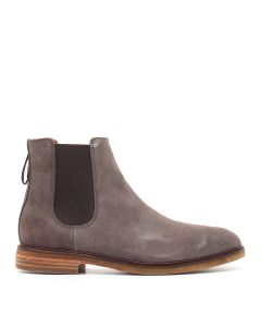 CLARKDALE GOBI TAUPE SUEDE TAUPE