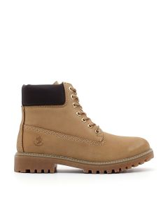 ANKLE BOOT RIVER YELLOW/DK BROWN