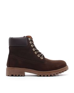 ANKLE BOOT RIVER COTTO/DK BROWN