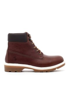 ANKLE BOOT RIVER LIGHT COTTO/DK BROWN