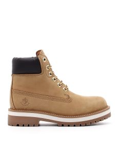 ANKLE BOOT - HIGH SOLE YELLOW/DK BROWN YELLOW/DK BROWN