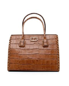 INFIL. CARA DOCTOR BAG COCCO LEATHER Cuoio