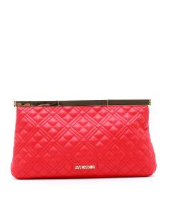 BORSA QUILTED NAPPA PU ROSSO Rosso